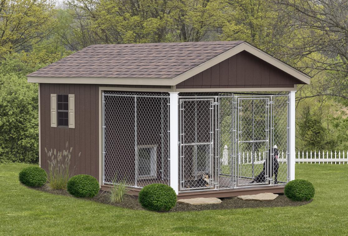 Outdoor Dog Kennel – Modern House