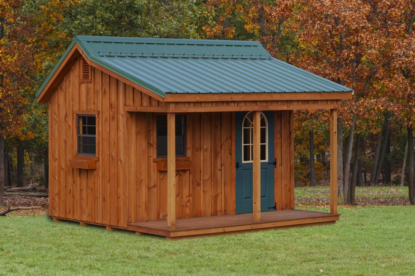 Cottage Style Shed Cabin Wooden Sheds, Outdoor Sheds Cabins