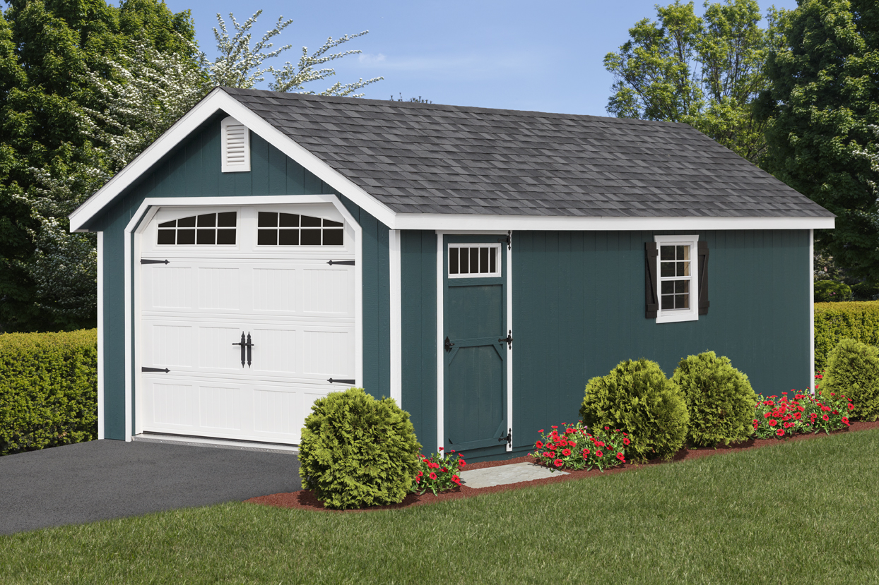 Prefab Single Car Garage | One Car Garage for Sale