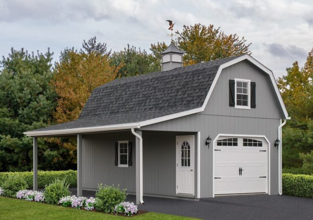 2-Story Single Gambrel