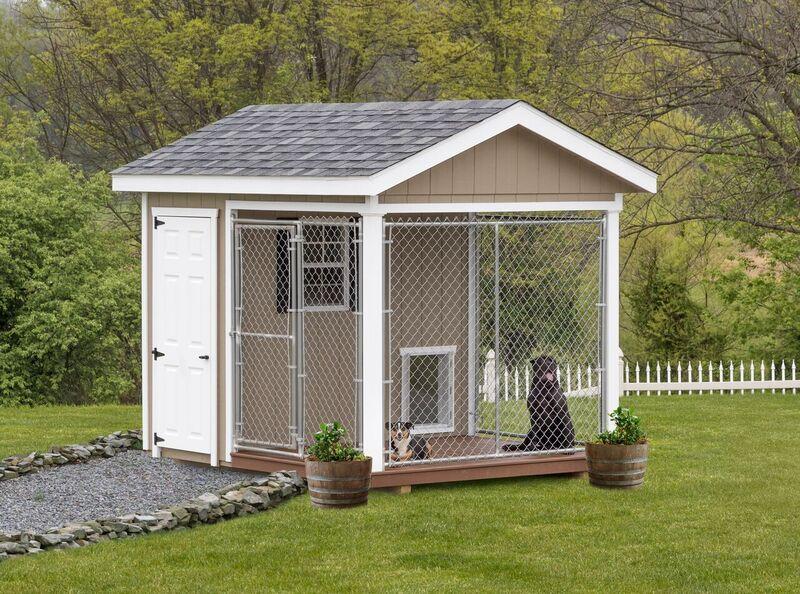 Outdoor Dog Kennels   Dog Kennels for Sale   Stoltzfus Structures
