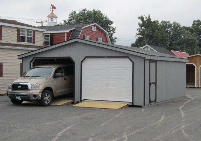 24x24 Double Wide Garage 1