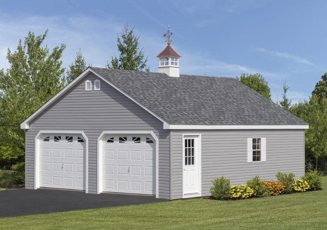 Garage Storage Sheds Double Wide 7 Pitch Roof And Mega