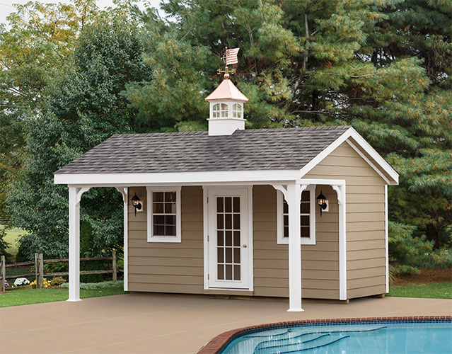 Small Pool House Backyard Pool Houses Stoltzfus Structures