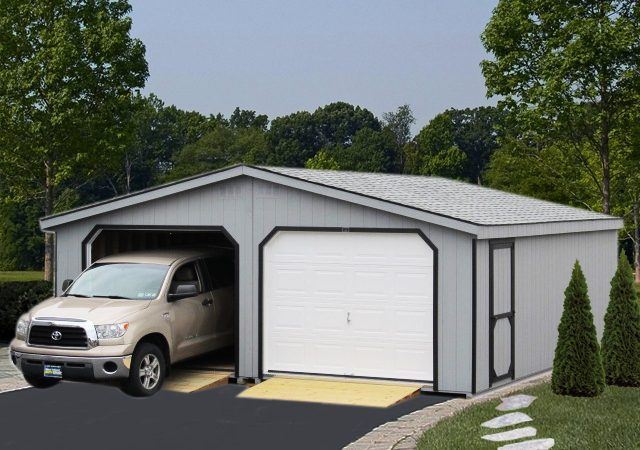 Double Wide Garages