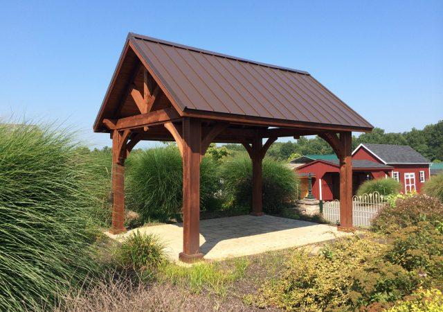 10x14 Wood Alpine Pavilion (2)