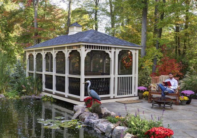 10x24 Vinyl Rectangle Gazebo