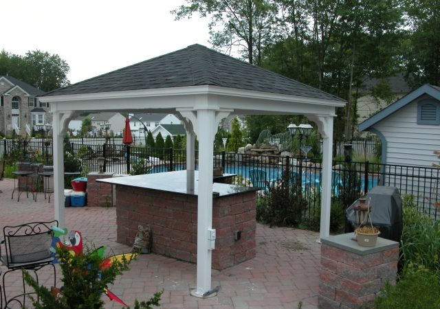 12x12 Vinyl Tradition Pavilion