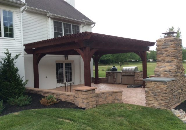 16x20 Kingston pergola