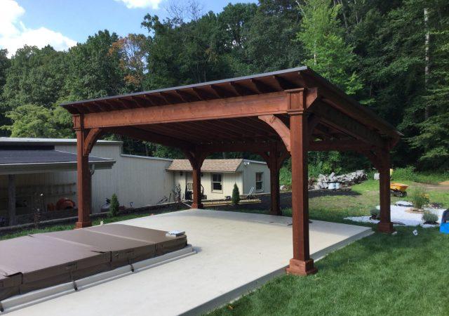 16x22 Cedar Santa Fe Pavilion