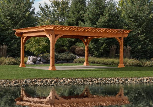 16x22 Kingston Pergola