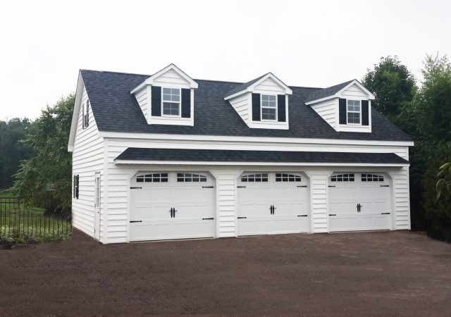 24x36 Carriage Style Garage