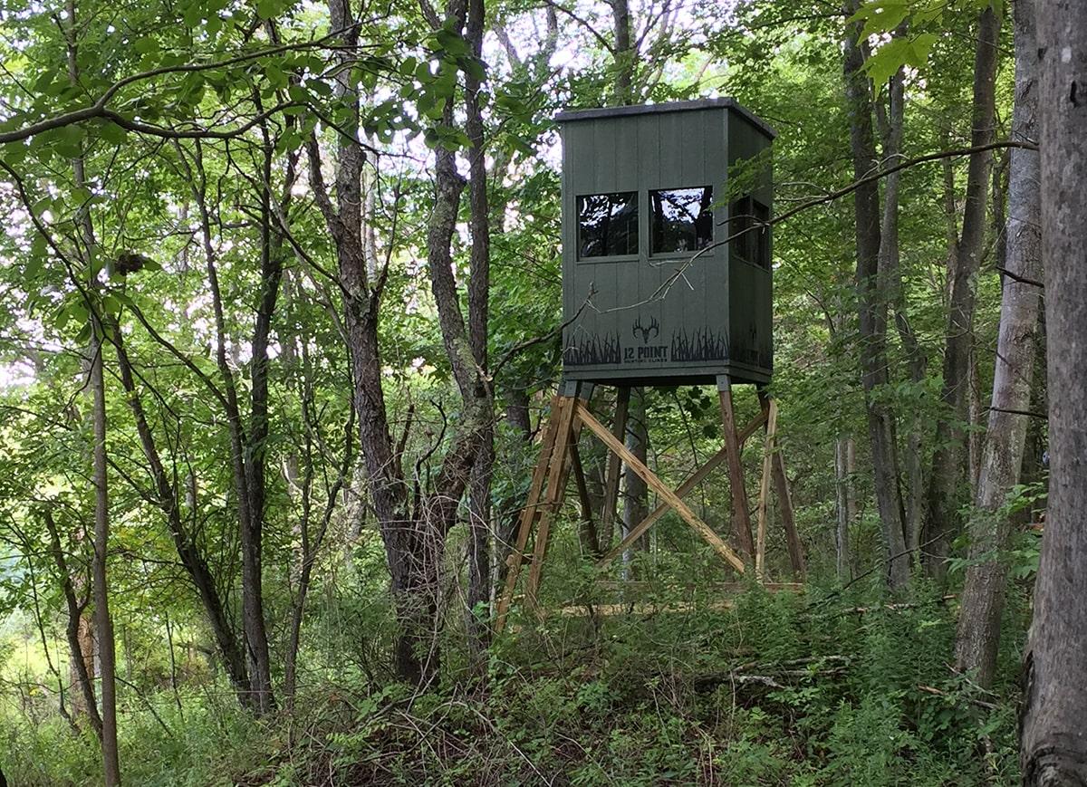 12 Point Hunting Blinds Amish Built Deer Blinds