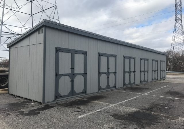 11x60 6- Unit Self Storage Unit