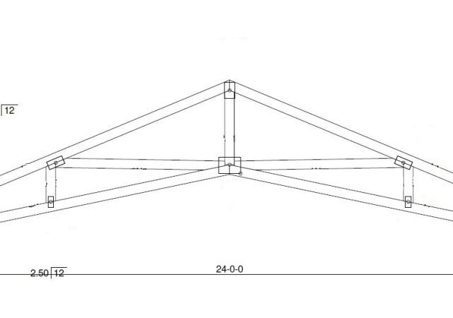 Garages Built On Your Property With Clear Span Truss