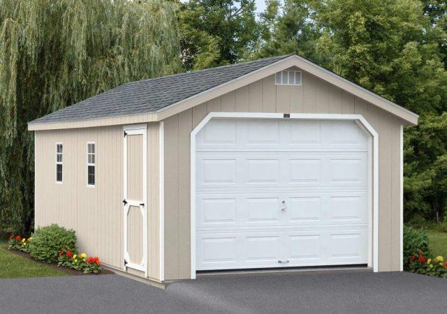 Garage Sheds For Sale Amish Garage Builders Stoltzfus Structures