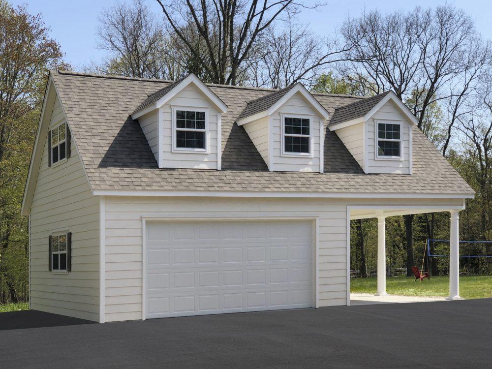 Custom Garages Built On Site Prefab, Garage With Living Quarters Prefab