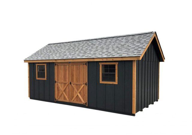 12x20 Garden Shed Cedar