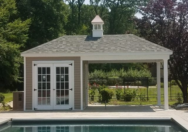 10x20 Poolhouse 2
