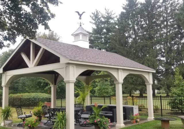 A-frame Pavilion